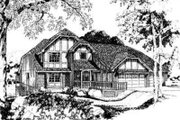 European Style House Plan - 3 Beds 2.5 Baths 2550 Sq/Ft Plan #312-116 Exterior - Front Elevation