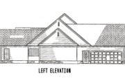 Ranch Style House Plan - 4 Beds 3.5 Baths 3602 Sq/Ft Plan #17-1166 Exterior - Other Elevation