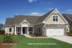 Craftsman Exterior - Front Elevation Plan #929-437