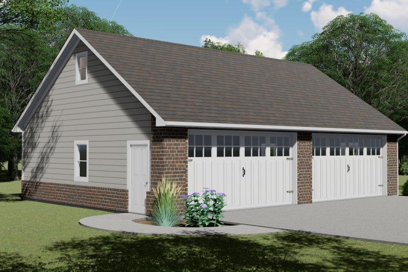 House Plan Design - Craftsman Exterior - Front Elevation Plan #1064-90