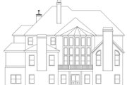 European Style House Plan - 4 Beds 4.5 Baths 4970 Sq/Ft Plan #419-242