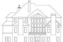 Home Plan - European Exterior - Rear Elevation Plan #419-242
