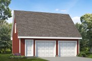 Colonial Style House Plan - 0 Beds 0 Baths 1148 Sq/Ft Plan #47-1069 Exterior - Front Elevation