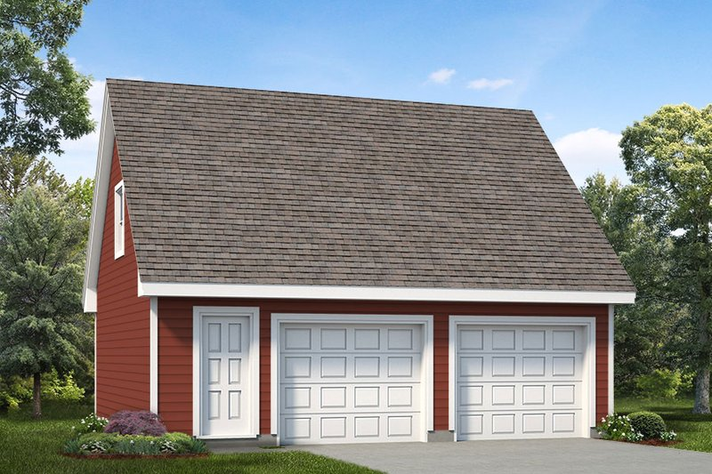 House Plan Design - Colonial Exterior - Front Elevation Plan #47-1069