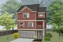 Dream House Plan - Traditional Exterior - Front Elevation Plan #79-145