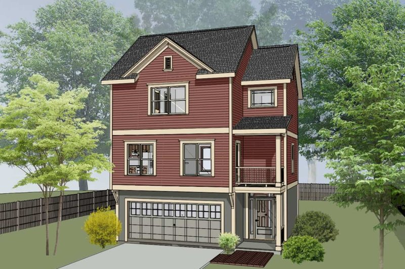 Traditional Exterior - Front Elevation Plan #79-145