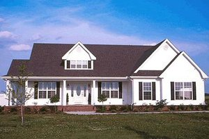Dream House Plan - Farmhouse Exterior - Front Elevation Plan #20-167