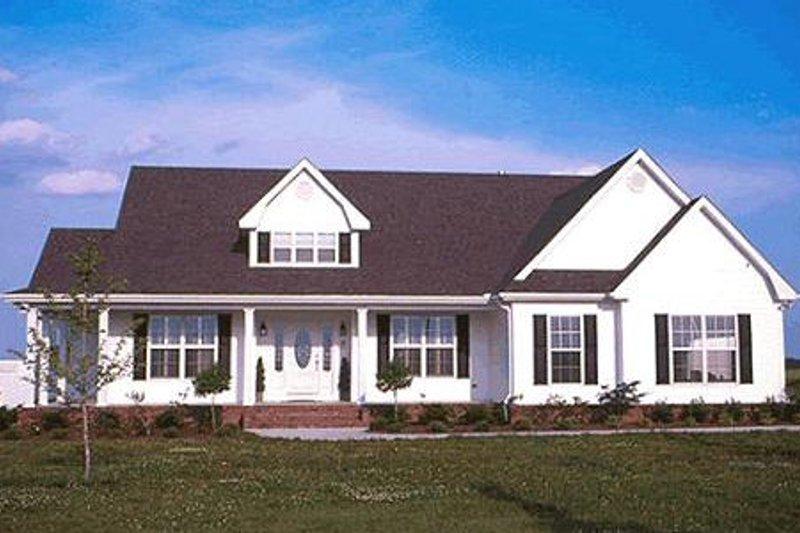 Architectural House Design - Farmhouse Exterior - Front Elevation Plan #20-167