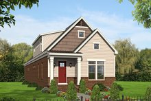 House Plan Design - Traditional Exterior - Front Elevation Plan #932-269
