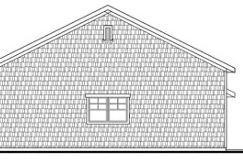 Craftsman Exterior - Other Elevation Plan #124-796 - Houseplans.com