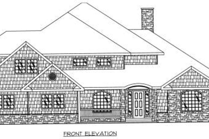 European Exterior - Other Elevation Plan #117-562 - Houseplans.com