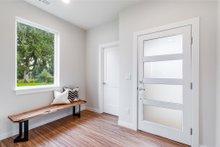 Contemporary Interior - Entry Plan #1066-88