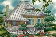 Country Style House Plan - 2 Beds 2 Baths 1772 Sq/Ft Plan #930-29 Exterior - Front Elevation