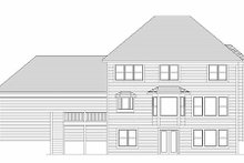 Traditional Exterior - Rear Elevation Plan #51-357