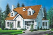 Country Style House Plan - 3 Beds 1.5 Baths 2056 Sq/Ft Plan #23-213
