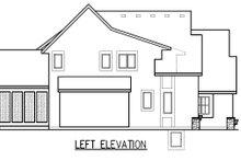 Dream House Plan - Left Side Elevation