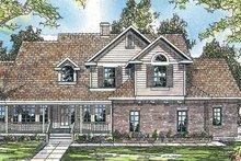 House Design - Farmhouse Exterior - Front Elevation Plan #124-198