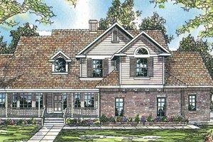 Farmhouse Exterior - Front Elevation Plan #124-198