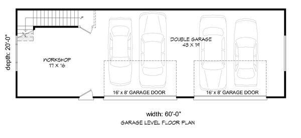 Colonial Floor Plan - Main Floor Plan Plan #932-279