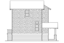 Dream House Plan - Craftsman Exterior - Rear Elevation Plan #48-438