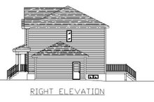 Traditional Exterior - Other Elevation Plan #138-240