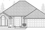 Traditional Style House Plan - 3 Beds 2 Baths 1680 Sq/Ft Plan #65-193 Exterior - Front Elevation