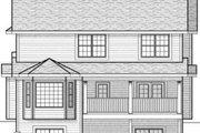 Farmhouse Style House Plan - 3 Beds 2.5 Baths 2349 Sq/Ft Plan #70-578 Exterior - Rear Elevation