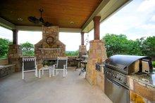 Dream House Plan - Prairie Exterior - Outdoor Living Plan #80-211