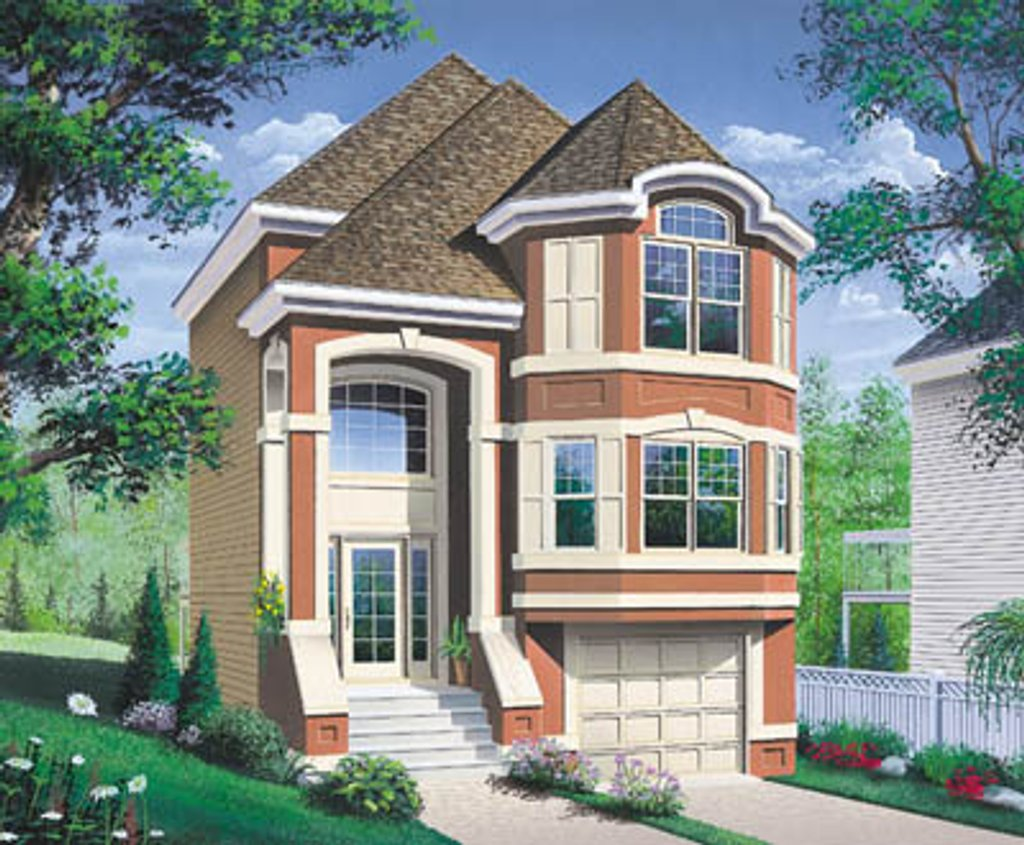 European style house plan 3 beds 1 5 baths 1564 sq ft for European style house