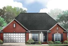 Traditional Exterior - Front Elevation Plan #21-189