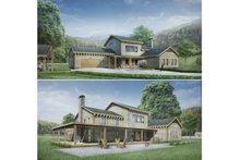 Modern Exterior - Other Elevation Plan #924-6