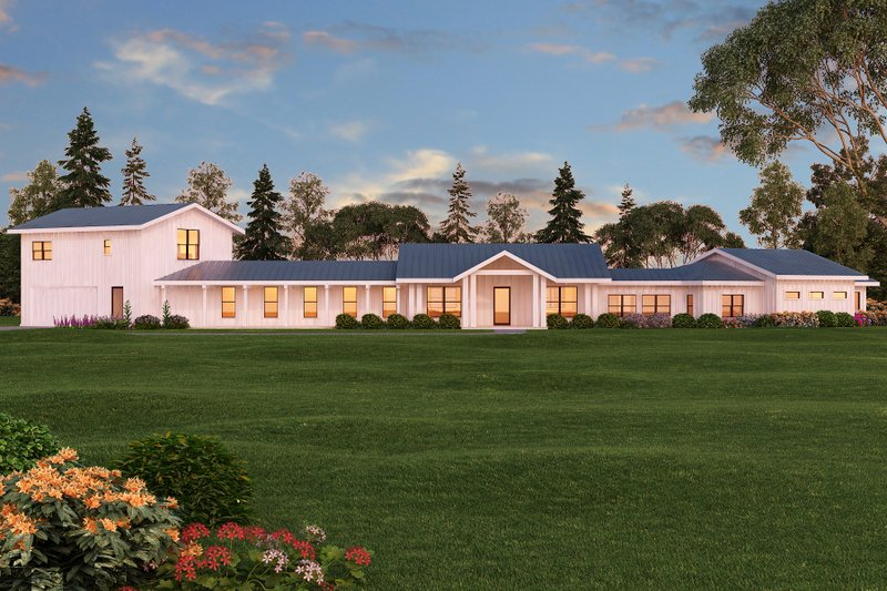 Home Plan - Ranch Exterior - Front Elevation Plan #888-11