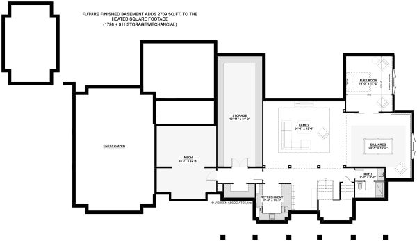 House Design - Optional Basement