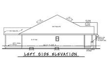 Farmhouse Exterior - Other Elevation Plan #20-2351