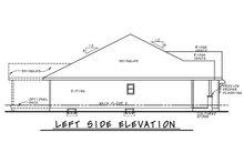 Architectural House Design - Farmhouse Exterior - Other Elevation Plan #20-2351