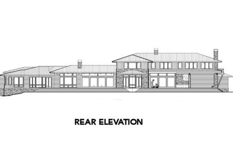 Modern Exterior - Other Elevation Plan #48-256 - Houseplans.com