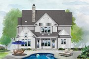Farmhouse Style House Plan - 4 Beds 3.5 Baths 2766 Sq/Ft Plan #929-1122