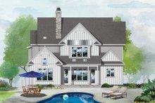 Architectural House Design - Farmhouse Exterior - Rear Elevation Plan #929-1122