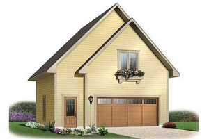 House Plan Design - Traditional Exterior - Front Elevation Plan #23-443