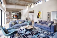 Contemporary Interior - Family Room Plan #924-13