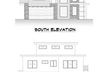 Home Plan - Contemporary Exterior - Other Elevation Plan #1066-113
