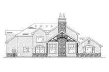Dream House Plan - European Exterior - Rear Elevation Plan #5-395