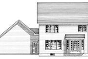 Country Style House Plan - 3 Beds 2.5 Baths 1887 Sq/Ft Plan #316-113 Exterior - Rear Elevation