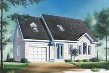 House Plan Design - Traditional Exterior - Front Elevation Plan #23-242