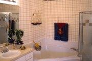 European Style House Plan - 4 Beds 2 Baths 1919 Sq/Ft Plan #417-172