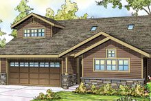 House Plan Design - Traditional Exterior - Front Elevation Plan #124-860
