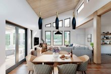 Architectural House Design - Cabin Interior - Dining Room Plan #924-14