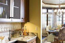 Butlers Pantry - 4000 square foot European home