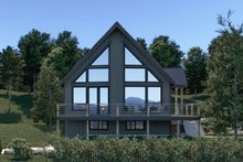 Cottage Exterior - Front Elevation Plan #1070-57