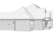 Architectural House Design - Traditional Exterior - Other Elevation Plan #63-197